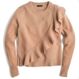 Harold Boiled Wool Ruffle Sweater